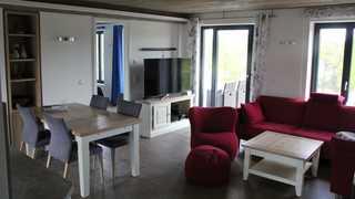 V19 Strandresidenz-Appartement in Prora Wohnbereich