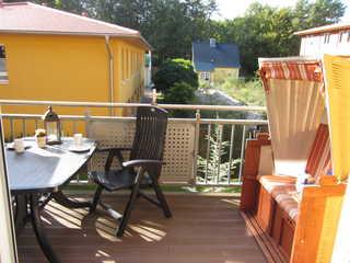 Zempin Ostseepark WE 29 **Insel Usedom**150m zum Strand** Balkon mit Strandkorb im 1.OG