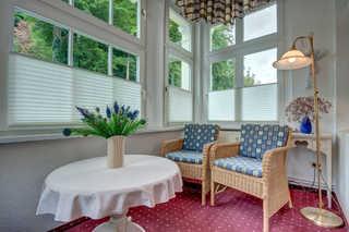 Heringsdorf - Villa Lindemann W3 Wohnraum mit Erker