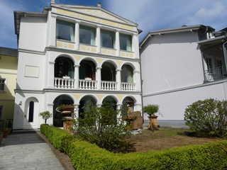 Ferienwohnung Villa Bella Rosa im Ostseebad Binz auf Rügen Außenansicht Villa Bella Rosa