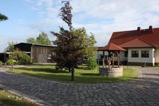 Ferienwohnung Gerswalde UCK 1081 Blick über das Grundstück