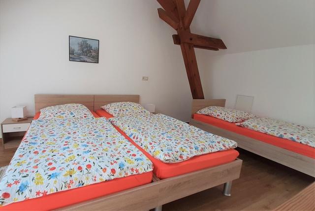 Ferienhof-Siemer Schlafraum Ferienwohnung 3 Personen