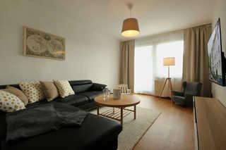Ferienwohnung 6RB1, Haus Ringstraße Wohnzimmer