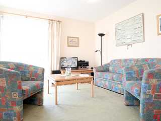 Haffblick Whg. Ha05 Residenz Haffblick App.5- Wohnbereich mit TV