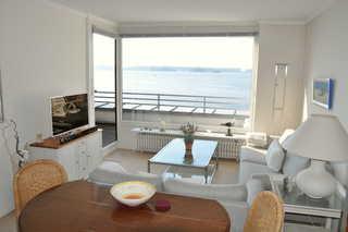 Ferienwohnung Strandkieker - SORGENFREI BUCHEN* Wohnraum