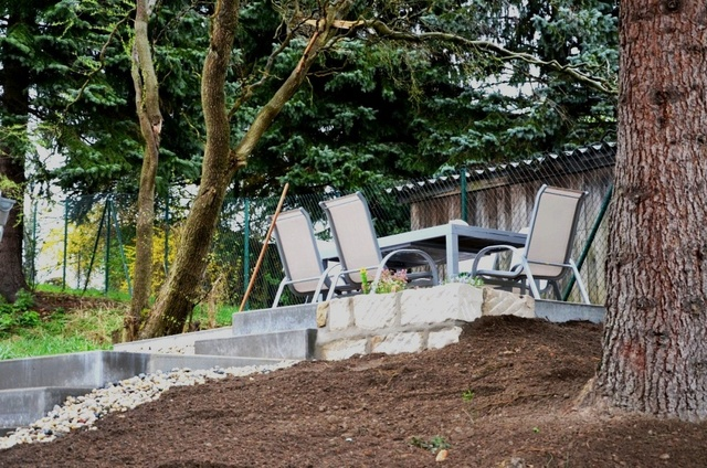 Garden mit Sitzecke