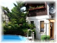 Ferienhaus mit Pool in Blankenburg