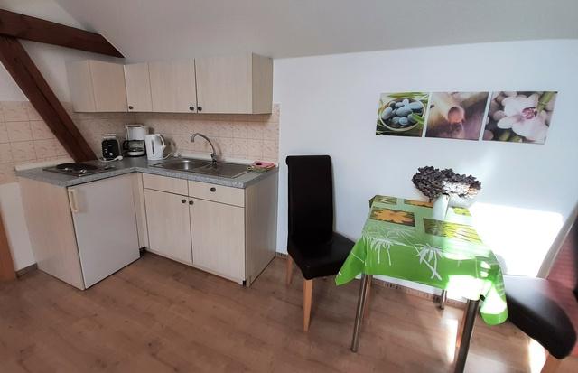 Ess-Wohnbereich Appartement