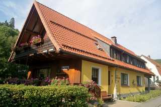 Pension Haus Brückner Hausansicht