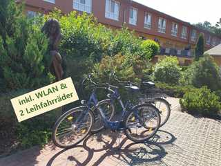 Zempin Ostseepark WE 47**Insel Usedom**150m zum Strand** inkl. WLAN & 2 Leihfahrräder