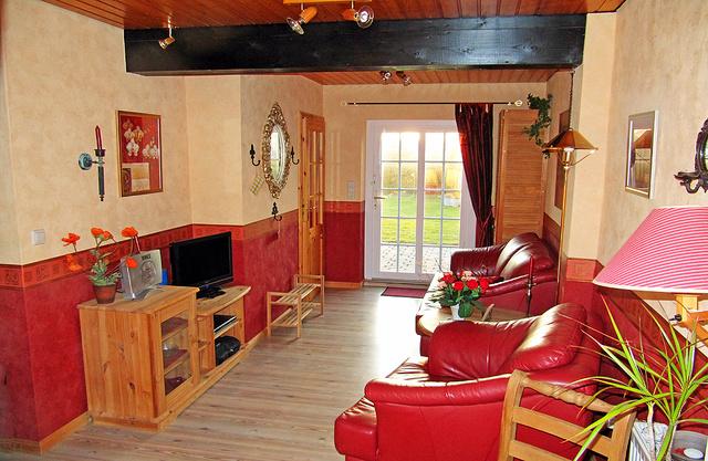 Wohnung mit 35 qm im Erdgeschoss