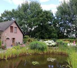 Ferienwohnung Jantje, 35219 Garten- und Aussenansicht