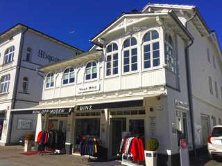 Villa Binz F620 WG 05 im 1. OG Lust und Meer Villa Binz im Ostseebad Binz - Hausansicht