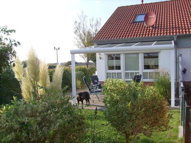Ferienhaus Popp Gartenansicht