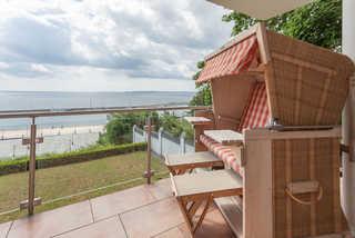 Villa Friede-Marie - App. Freya Balkon und Meerblick