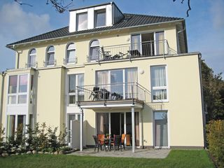 H: Haus Möwe II Whg. 01 mit Terrasse Außenansicht
