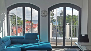 Baabe Villa Andrea Ferienwohnung Passat Ref. 181975 Blick bis zum Meer