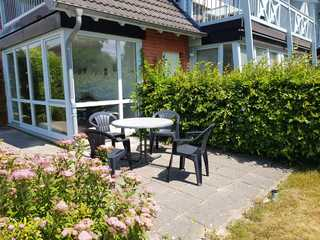 Ferienwohnung Fischerhaus 1 OT Seedorf Terrasse