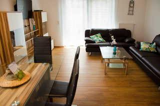 Ferienhaus Frische Brise Wohnzimmer