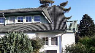 Zinnowitz Skanepark Ferienwohnung 05 im 1.OG Blick aufs Haus