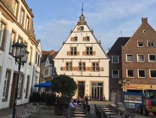Ferienwohnungen Rheine Markt 12 Die Wohnungen befinden sich im 1. OG des hellen...