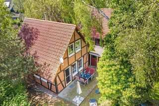 Ferienhaus Dünenwald Hausansicht