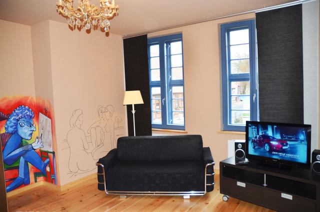 Individuell gestaltete Zimmer - Hommage an Picasso