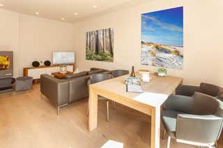 Strandvilla Strandhafer offener Wohnbereich