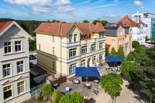 Hotel Villa Seeschlößchen 3*** Frontansicht der Villa Seeschlößchen