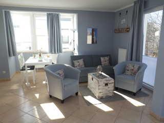 Residenz Bel Vital 19 im Ostseebad Binz auf Rügen Gemütlicher Wohnraum