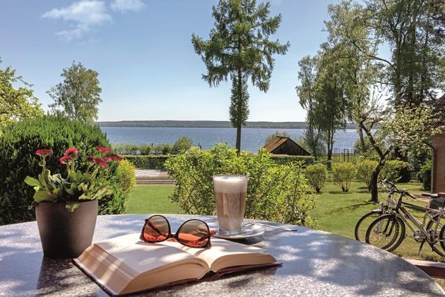 Ferienhaus SEEBLICK mit Blick auf den Plauer See
