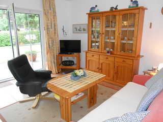 Ferienwohnung Schlinkheider Wohnzimmer