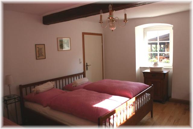 Schlafzimmer in FEWO Abendrot