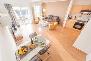 B06 Penthouse STRANDDÜNE mit Meerblick | Haus Victoria