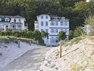 Villa Strandeck F 662 WG 1 mit Ostsee-Panoramablick Villa Strandeck im Ostseebad Binz
