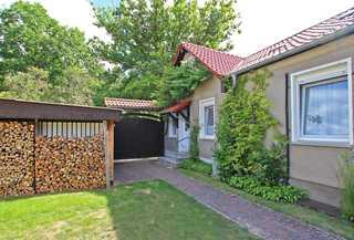 Ferienwohnungen Templin UCK 650 Eingang zur kleinen Wohnung