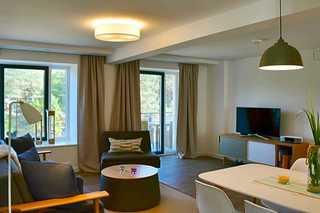 Ferienwohnung 110RB25, Haus Granitz Wohnbereich