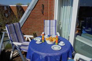 Ferienwohnung Bremke Balkon