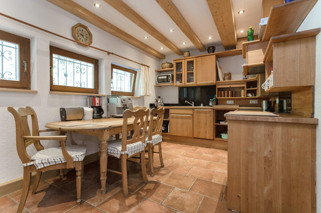 Küche Privatunterkunft