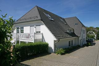 MI: Haus Südstrand Whg. 04 mit Terrasse Hausansicht