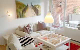 Ferienwohnung Altrogge Wohnzimmer