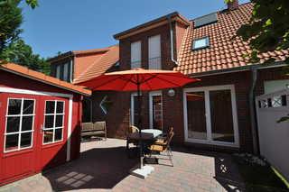 Nr. 39 - Ferienhaus Am Yachthafen Garten / Terrasse