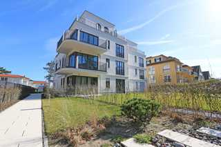 F.01 Strandvilla Andrea Whg. 04 mit Terrasse (Süd) Außenansicht