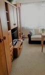 Ferienwohnung Hartung Wohnzimmer mit Fernseh und Schlafcouch