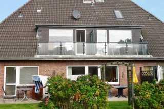 Haus Severin Whg. Rother mit Balkon Nr.4 Aussenansicht vom Garten