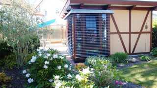 Gartenhaus Dassow Terrasse