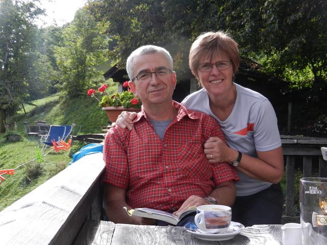 Ihre Gastgeber Ruth und Willi Büchele