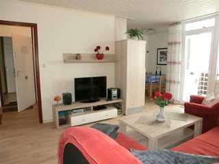 Ferienwohnung Andresen B-I-5-8 Wohnzimmer