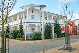MI: Villa Minna Whg. 03 mit Balkon Außenansicht