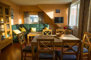 Ferienwohnung Saalfeld Whg 8 Wohnzimmer